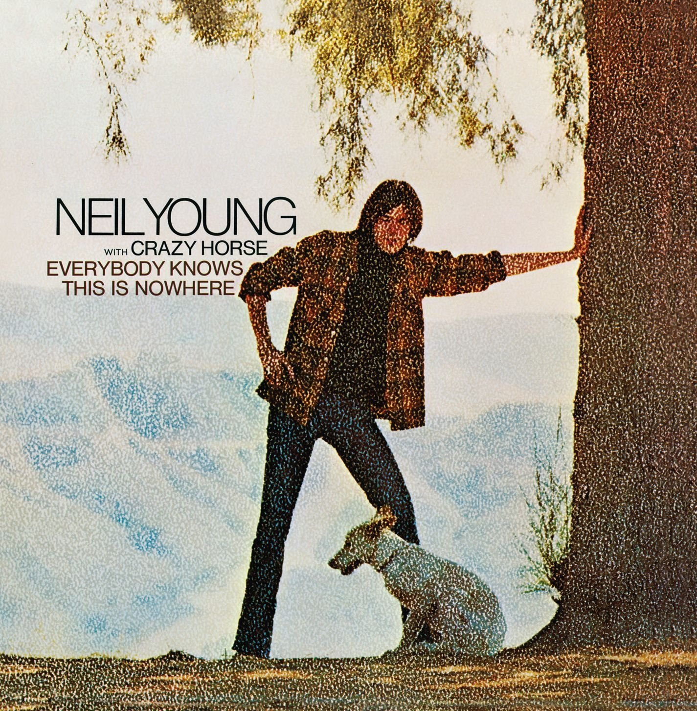 Everybody Knows This Is Nowhere by Neil Young Album Cover