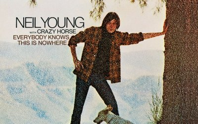 Everybody Knows This Is Nowhere by Neil Young Album Cover Location