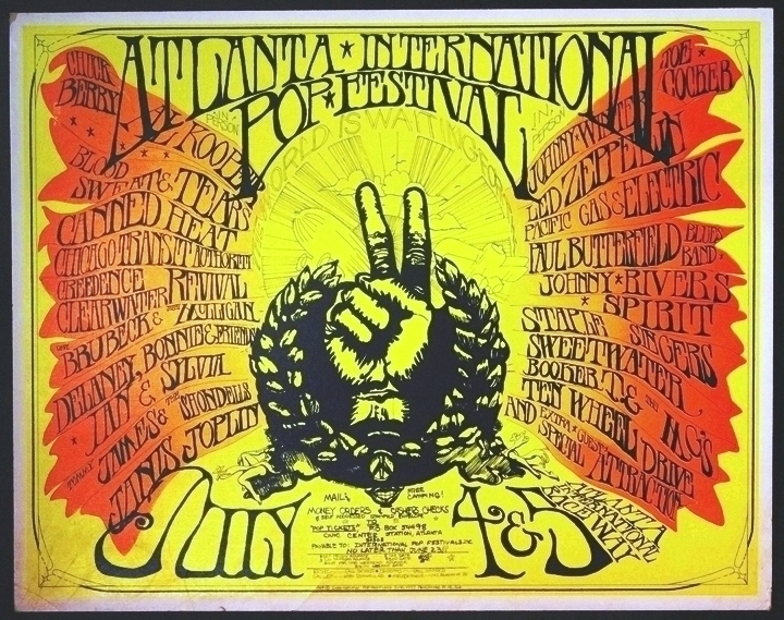 First Atlanta International Pop Festival