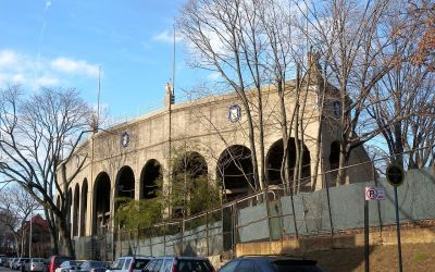 Forest Hills Tennis Stadium In Queens New York