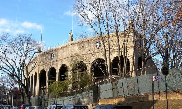 Forest Hills Tennis Stadium In Queens New York