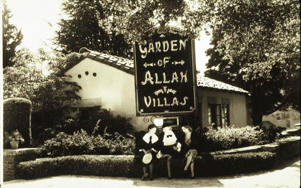 Garden of Allah – They paved paradise, and put up a parking lot