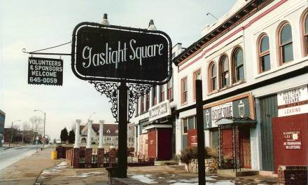 Gaslight Square Former Location In St. Louis
