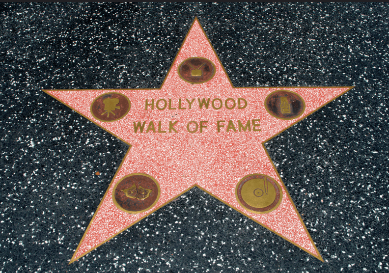 Hollywood Walk Of Fame List Of Rock N Roll Stars On The Walk