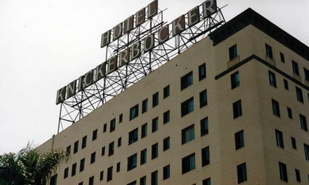 Hotel Knickerbocker – Elvis Presley Enjoyed Staying Here In Suite 1016