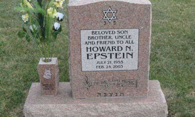 "Buried Here – Howie Epstein,  Bass Player For ""Tom Petty And The Heartbreakers"""