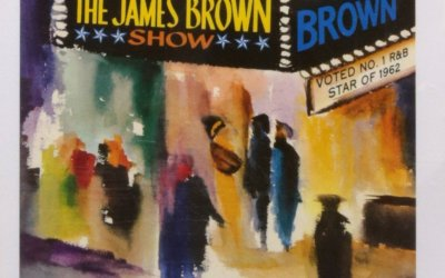 Live at the Apollo by James Brown Album Cover Art Location