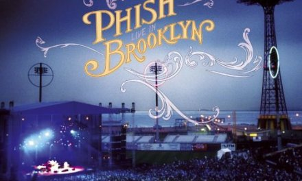 """Live in Brooklyn"" By Phish Album Cover Location"