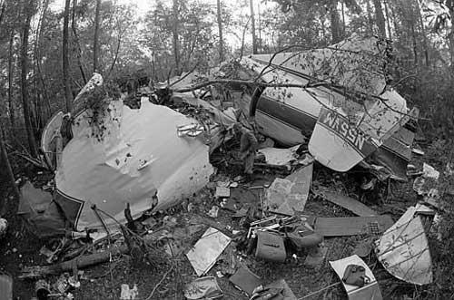 Lynyrd Skynyrd Crash Site