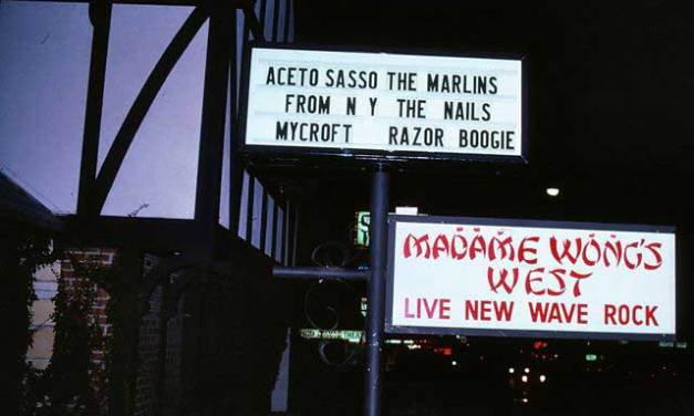 Madame Wong's West – Famous Punk Rock Hang Out
