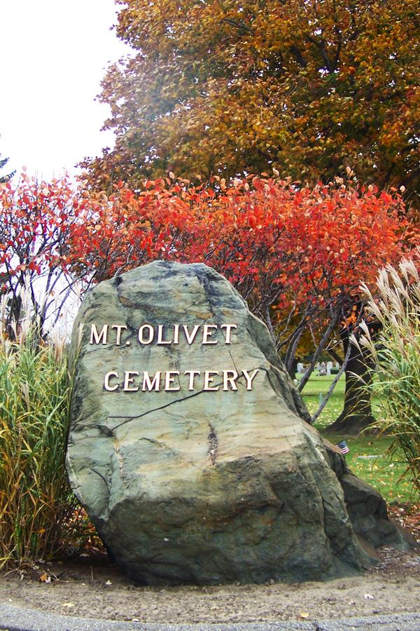 Mount Olivet Cemetery.