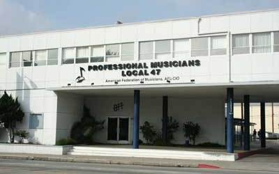 Musician Union Hall Local 47 – Gotta Join If You Want To Work In L.A.