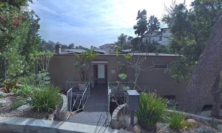 Peter Tork's Home In Beachwood Canyon Area Of Los Angeles