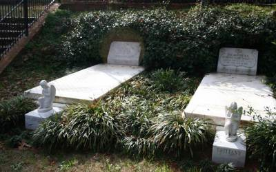 "Buried Here – Gregg Allman, Duane Allman, Berry Oakley Of The ""Allman Brothers Band"""
