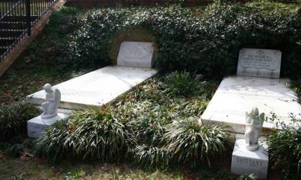 "Buried Here – Duane Allman, Berry Oakley Of The ""Allman Brothers Band"""