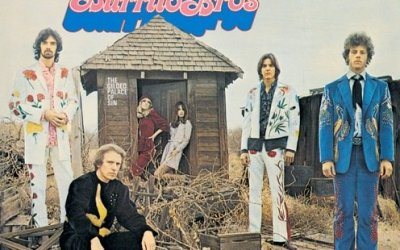 The Gilded Palace Of Sin By The Flying Burrito Brothers Album Cover Location