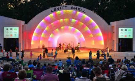 The Levitt Shell – considered first ever venue for a rock concert