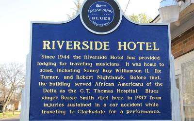 The Riverside Hotel In Clarksdale MS – Where  Bessie Smith Died