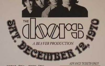Warner Playhouse – The Doors early concert venue.