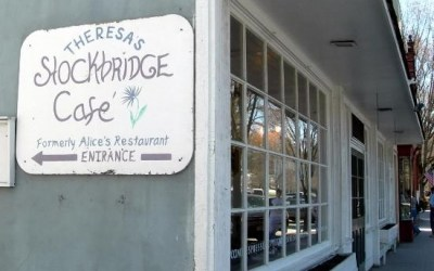 "Theresa's Stockbridge Cafe, Inspiration For ""Alice's Restaurant Massacree"" By Arlo Guthrie"