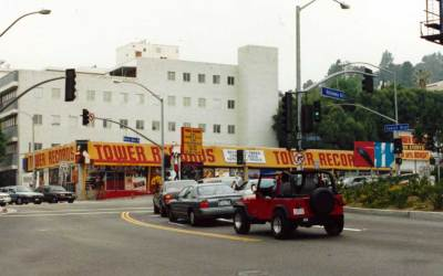 Tower Records – The Los Angeles Location Of Former Record Store Chain