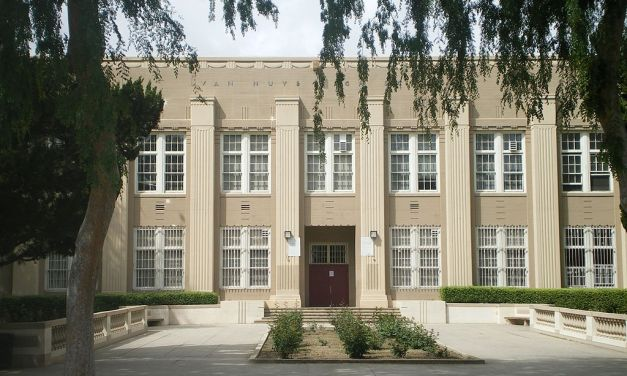 "Van Nuys High School, One Location For The Film ""Rock and Roll High School"""