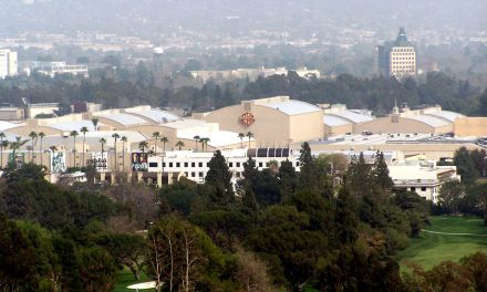 "Warner Brothers Studios, ""Wish You Were Here"" Album Cover Location"