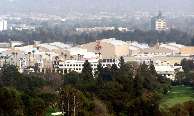 """Warner Brothers Studios, """"Wish You Were Here"""" Album Cover Location"""