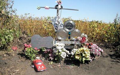 Plane Crash Site Where Buddy Holly, Ritchie Valens & Big Bopper Died
