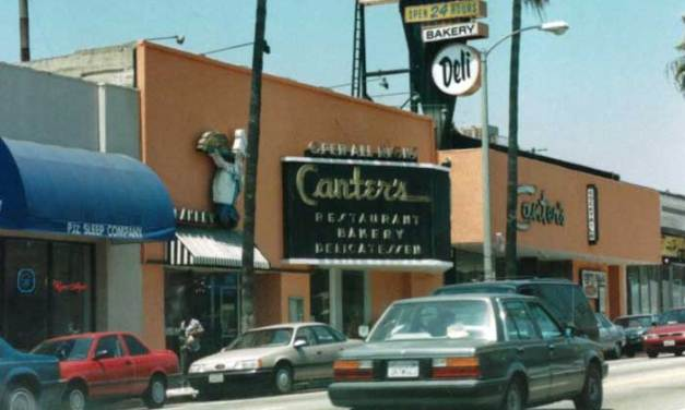 Canter's Deli – Late night hangout for L.A. musicians