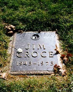 Jim Croce Memorial Plaque