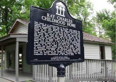 Ray Charles Boyhood Home In Greenville Florida