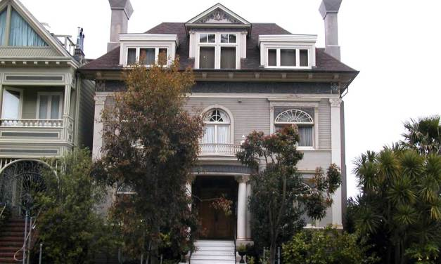 Graham Nash's Home In San Francisco, California