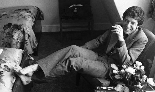 Buried Here – Leonard Cohen, Singer, Songwriter, Musician And Poet