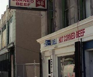 "Nate's Deli – Where Aretha Franklin sings ""Think"" In The ""Blues Brothers"" Movie"