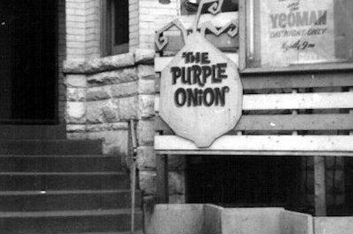 Purple Onion Coffee House Historic Folk Music Venue