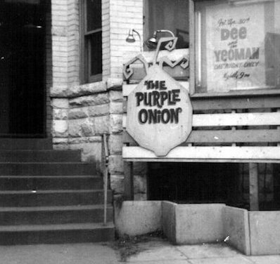 Purple Onion Coffee House Historic Folk Music Venue