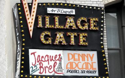 Village Gate Nightclub in Greenwich Village