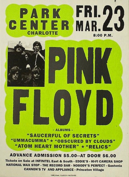 Pink Floyd At Park Center Poster