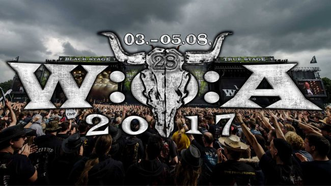 WACKEN OPEN AIR 2017 -   Horarios / Time schedule