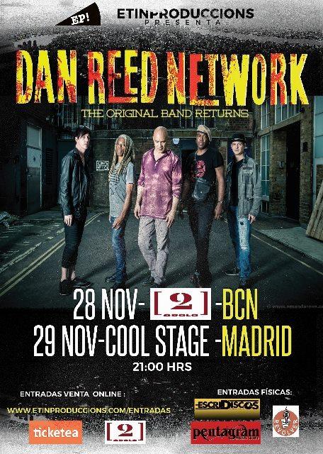 DAN REED NETWORK en concierto!