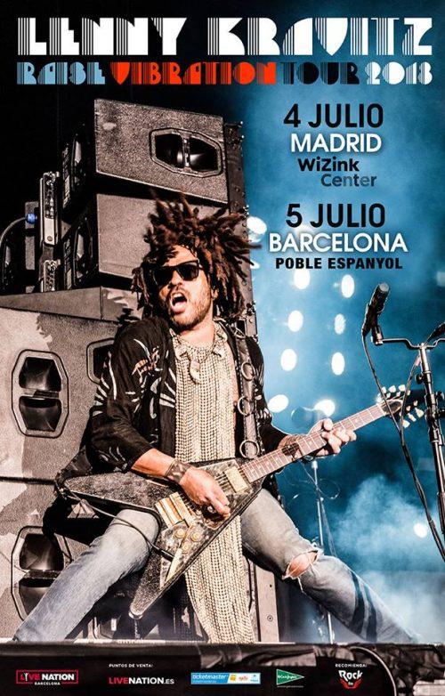 LENNY KRAVITZ actuará en España