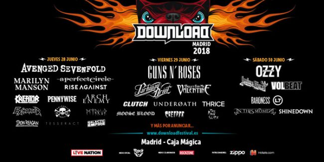 DOWNLOAD MADRID FESTIVAL 2018 - Distribución por días