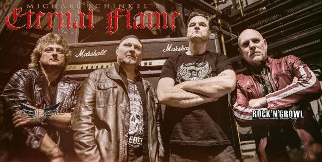 ETERNAL FLAME - Nuevo disco con invitados de lujo