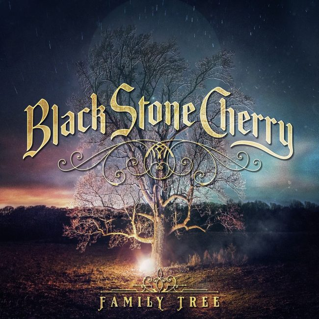BLACK STONE CHERRY - Family tree (2018)