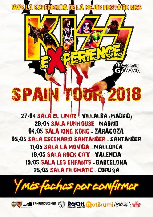 Llega la KISS EXPERIENCE a España