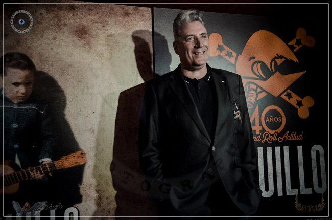 """LOQUILLO - Presentación """"40 años de José María Sanz, Loquillo"""""""
