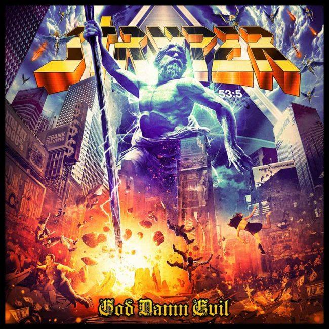 STRYPER - God damn evil (2018)