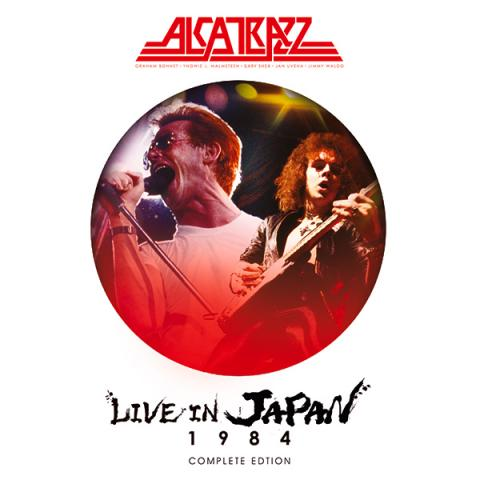 "ALCATRAZZ edita ""Live in Japan"" completo"