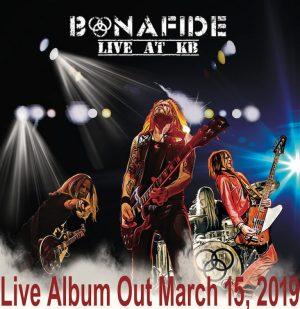 BONAFIDE - Disco en directo